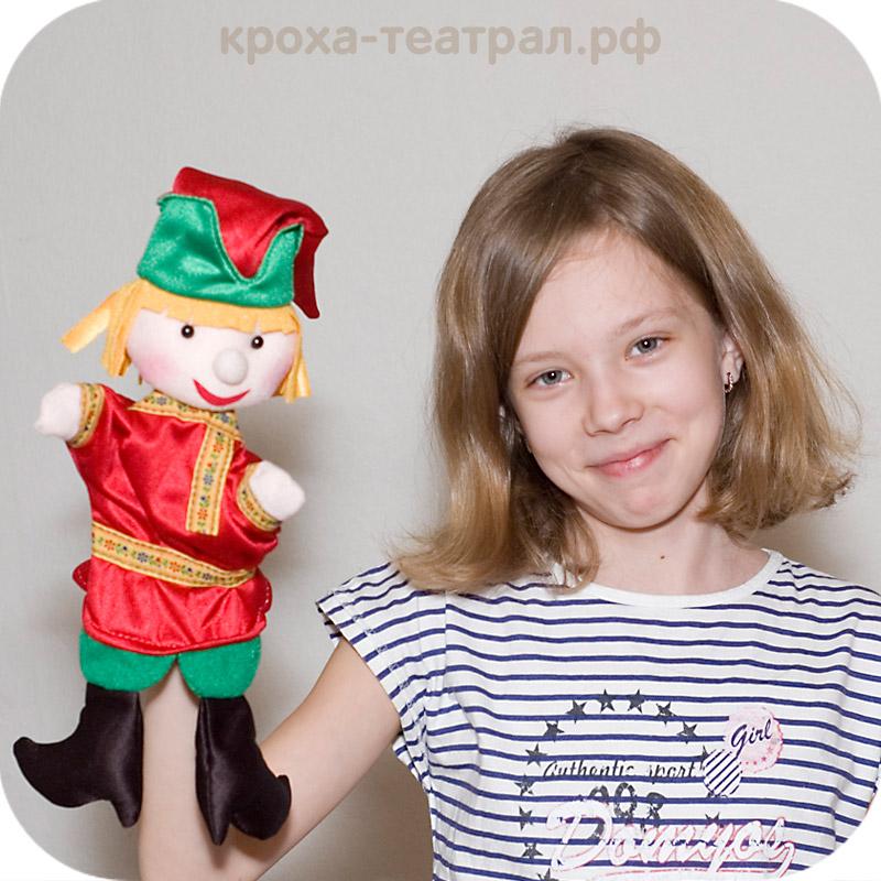 Как сделать куклу из театра петрушка