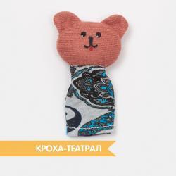 Кукла на палец Медведь