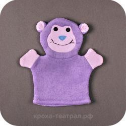 Детская мочалка Обезьянка купить в Москве